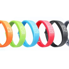 Factory Price! New 3D Smart Wristband Silicone with Pedometer