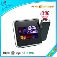 Sunny Digital Weather Station Laser Projector Clock