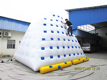 Hot Selling Inflatable Water Totter , inflatable iceberg water toy, Inflatale Water Park Accessory