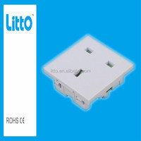 Best Price British 3-Pin Industrial Electrical Plug Socket for PDU