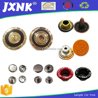 All types of custom snap fasteners metal buttons for clothes