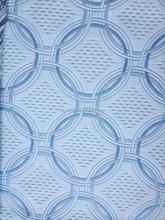 copy knitting 100%polyester(SPUN) woven jacquard mattress fabric /F1404-1/ blue