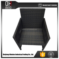 Rocking PE rattan shoe sofa chair DC-013