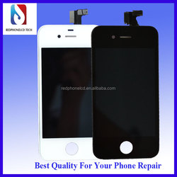 Mobile phone 4S lcd for iphone 4S lcd assembly with digitizer