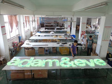 electronic letter signs 3d advertising 3d alphabets letter lightbox letter lights printed pens