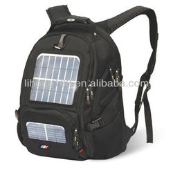 2400mAh 14 inch solar backpack laptop backpack