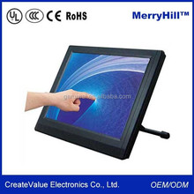 "Industrial Application and POS System 15"" 17"" Inch IR Multi Touch Screen Monitor"