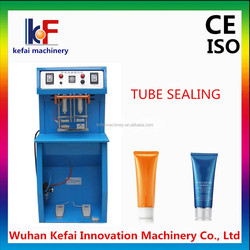 Small business cosmetic soft plastic tube sealing machine