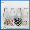 1L juice glass bottles for sale with twist off cap