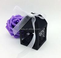 2016Teda Plain Black Paper decorative gift boxes