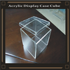 clear acrylic display case cube acrylic storage case with lid