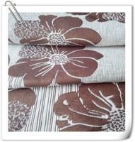 100% acrylic fibers material woven technics yarn dyed jacquard chenille fabrics
