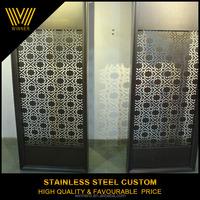 professional custom indoor metal rotatable folding doors room dividers