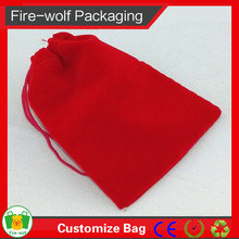 UK Business Custom Gift Velvet Pouch Bag For Jewelery