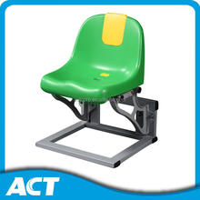 Fixed plastic made gym chair seat for Pitch and Courtside
