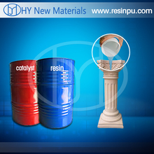 Two component polyurethane resin for craft and home decoration
