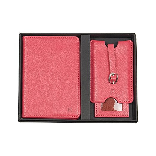 Personalized Leather Passport Holder And Luggage Tag Set (2).jpg