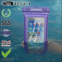 China Supplier Hot Waterproof Swimming Beach Pouch For Mobile Phone