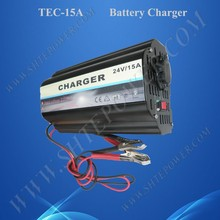 Nice using feeling Ac Dc car 24v 15a float charger