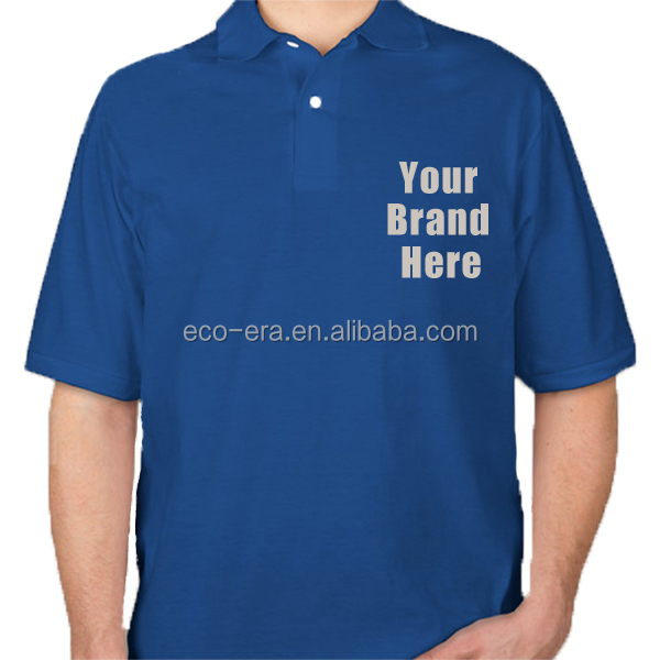 New 2014 High Quality Custom Blank Polo T Shirt Customized