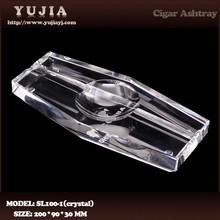 Guangzhou yujia cohiba K9 crystal cigar ashtray custom promotion ashtray