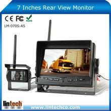 For Trailer Truck RV Forklift Waterproof 7 inch digital wireless car camera system 12V
