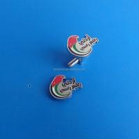 UAE United Arab Emirates UAE National Flag Cufflinks, UAE customized soft enamel cufflinks, China manufacturer make UAE cufflink
