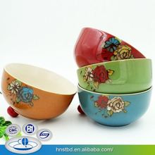 Custom Made Pottery Direct Factory Price Basketball Shaped Bowls