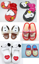 2015 Cute animal slipper childrens TPR outsole bedroom indoor
