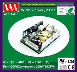 UL CE Approved Dual output 24v 5v dc switching power supply