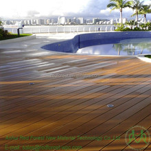 China artificial wood composite waterproof decking material for outdoor