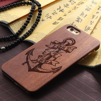 2015 Original DIY custom wood case laser engraving cell phone case for iphone 6s wooden case alibaba china