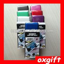 OXGIFT Billetera aluminio, Aluma cartera