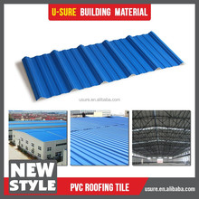 Best selling products construction engineering corrugated plastic roof tile
