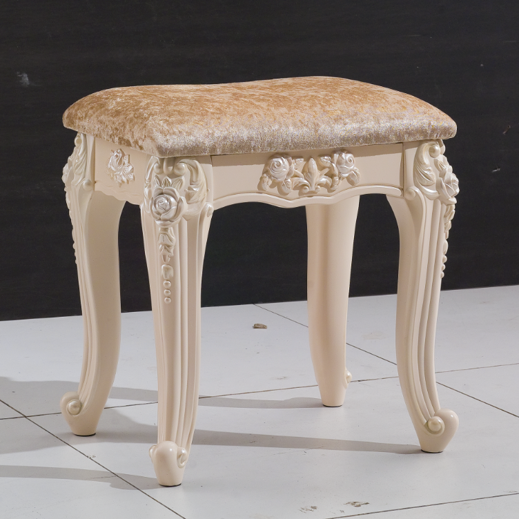 1 4 m coiffeuse avec miroir et tabouret meubles de luxe de for Meuble coiffeuse avec tabouret