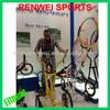 Upright exercise bikes