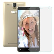 Cell phone accessory Anti-scratch 9H 0.3mm Full Cover Transparent Tempered Glass Screen Protector For Sky 5.5W