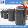 0.3-10 tons high efficiency easy maintenance pouring teapot ladle, teapot type cast iron ladle
