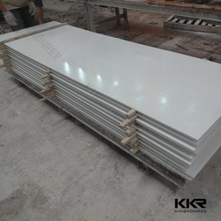 Joint invisible white modified acrylic solid surface