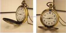 fashion design quartz pocket clock as gift