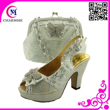 African party shoes and bag make you to be a queen in the party time