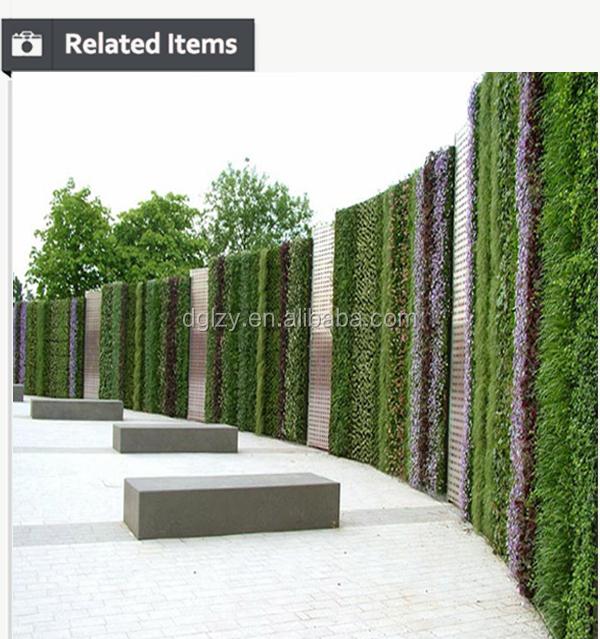 Oem vertical jardin avec plantes artificielles paroi for Paroi de separation jardin