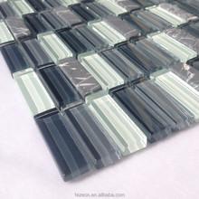 Kitchen wall Mosaic glass tile bamboo glass backsplash