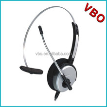 High quality Monaural call center telephone headphone with RJ plug