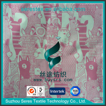 Transfer Printing Polyester 100 Polyester Lining Fabric