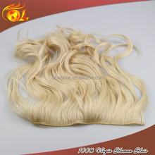 Brazilian Virgin Hair Flip In Extension,Wavy Texture Flip In Hairs
