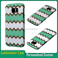 Personalized gift sublimation plastic cover mobile phone case for Samsung Galaxy S6