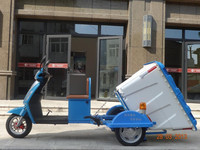 1000W large cargo box electric cargo tricycle