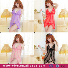 2016 top quality factory price china mature women sexy babydoll lingerie, wholesale plus size lingerie