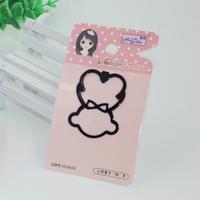 HL-0010-29 55*38mm Hair Accessory Cute Little-Bear-Shaped Hairpin Girls Headwear Bang Clip